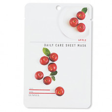 Eunyul Apple daily care sheet mask, 22г Маска тканевая для лица с экстрактом яблока