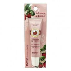 BioMax Volumizing lip essence strawberry, 10мл Эссенция для губ с экстрактом клубники