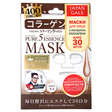 Japan Gals Collagen mask, 30шт Маска с коллагеном