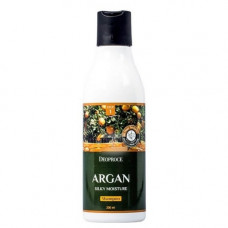 Deoproce Argan silky moisture shampoo, 200мл Шампунь для волос с аргановым маслом