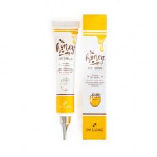 3W Clinic Honey eye cream, 40мл Крем для глаз питательный с экстрактом меда