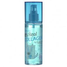 FarmStay It's real gel mist collagen, 120мл Гель спрей для лица с коллагеном