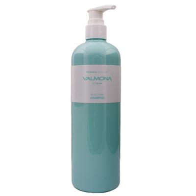 Valmona Recharge solution blue clinic nutrient shampo, 480мл Шампунь восстанавливающий увлажняющий