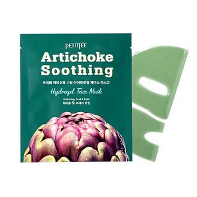 Petitfee Artichoke soothing hydrogel face mask, 32г Маска гидрогелевая с артишоком