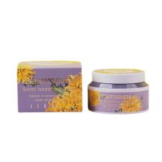 Jigott Chrysanthemum flower nourishing cream, 100мл Крем питательный с экстрактом хризантемы