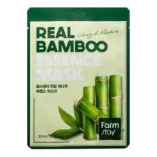 FarmStay Real bamboo essence mask, 23мл Маска тканевая для лица с экстрактом бамбука