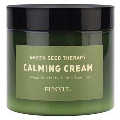 Eunyu К Green seed therapy calming crea, 270г Крем-гель для лица с экстрактами зеленых плодов