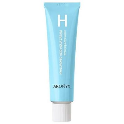 Aronyx Hyaluronic acid aqua cream, 50мл Крем увлажняющий с гиалуроновой кислотой и пептидами