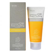 3W Clinic Coenzyme Q10 foam cleansing, 100мл Пенка для умывания с коэнзимом Q10