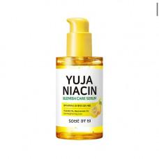 Some By Mi Yuja niacin blemish care serum, 50мл Сыворотка осветляющая с экстрактом юдзу