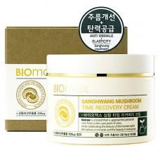 BioMax Sanghwang mushroom time recovery crea, 100мл Крем антивозрастной с экстрактом гриба санхван