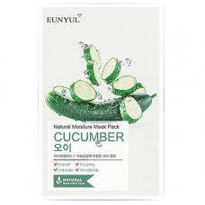 Eunyul Cucumber nature moisture mask pack, 22мл Маска тканевая для лица с экстрактом огурца
