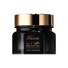 Facis All-in-one black snail cream, 100мл Крем для лица «муцин улитки»