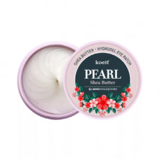 Koelf Pearl&shea butter eye patch, 60шт Патчи гидрогелевые с маслом ши