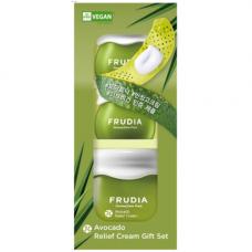 Frudia Avocado relief cream set, 55мл+2*10мл Набор подарочный восстанавливающих кремов с авокадо