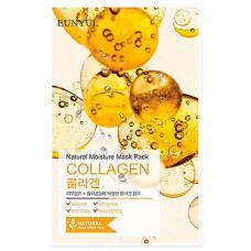 Eunyul Natural moisture mask pack collagen, 22мл Маска тканевая с коллагеном