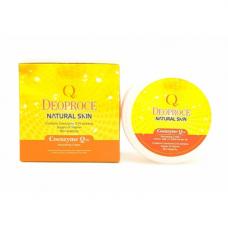 Deoproce Skin coenzyme Q10 nourishing cream, 100г Крем для лица и тела питательный с коэнзим Q10