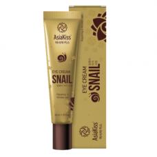 AsiaKiss Snail eye cream, 40мл Крем для кожи вокруг глаз с экстрактом слизи улитки