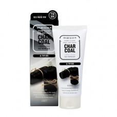 Jigott Charcoal pure clean peel off pack, 180мл Маска пленка очищающая с древесным углем