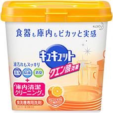 KAO Citric acid effect orange oil, 680г Порошок для посудомоечных машин с ароматом апельсина