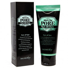 Secret Key Black out pore peel-off pack, 100мл Маска-пленка для лица