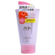 BCL Wash cleansing, 120г Пена скраб для лица с фруктовыми кислотами и минеральной глиной