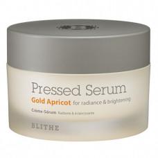 Blithe Pressed serum gold apricot, 50мл Сыворотка-крем спрессованная для сияния кожи лица