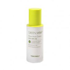 Tony Moly Green vita c glow aura cream, 50мл Крем осветляющий с витамином С