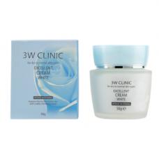 3W Clinic Excellent white cream, 50г Крем для лица отбеливающий