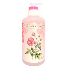 Laura Rosse Body wash rose, 500мл Мыло для тела жидкое ароматерапия роза