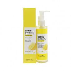 Secret Key Lemon sparkling cleansing oil, 150мл Масло гидрофильное с экстрактом лимона
