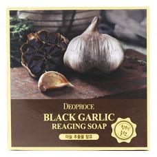 Deoproce Soap black garic, 100г Мыло с экстрактом черного чеснока