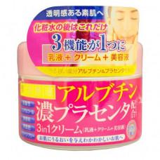 Roland Cream with arbutin and placenta, 180г Крем для лица с арбутином и плацентой