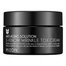 Mizon S-venom wrinkle tox cream, 50мл Крем антивозрастной со змеиным ядом