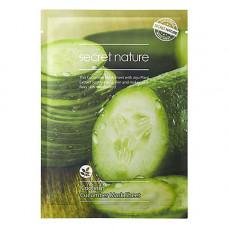 Secret Nature Cooling cucumber mask sheet, 25г Маска для лица освежающая с экстрактом огурца
