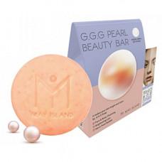 May Island G.G.G pearl beauty bar, 100г Мыло для умывания осветляющее с жемчугом