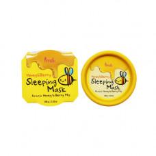 Prreti Honey&berry sleeping mask, 100г Маска для лица с медом