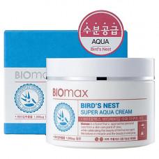 BioMax Bird's nest super aqua cream, 100мл Крем интенсивно увлажняющий