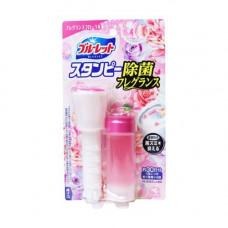 Kobayashi Bluelet stampy floral, 28г Очиститель цветок для туалетов дезодорирующий с ароматом роз