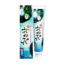 KeraSys Dental clinic 2080 chungeun cheong, 120г Зубная паста «восточный чай мята»