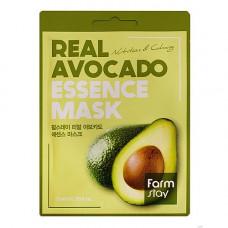 FarmStay Real avocado essence mask, 23мл Маска тканевая для лица с экстрактом авокадо