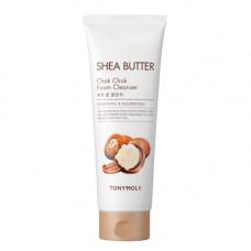 Tony Moly Shea butter chok chok foam cleanser, 250мл Пенка для умывания с маслом ши