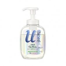 KAO Biore u body wash pure savon, 540мл Крем пенка для душа с ароматом целебных трав
