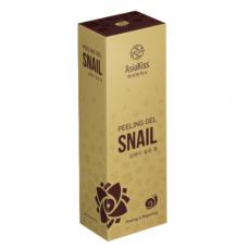 AsiaKiss Snail peeling gel, 180мл Пилинг гель с экстрактом слизи улитки