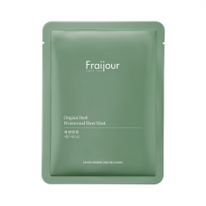 Fraijour Original herb wormwood sheet mask, 23мл Маска тканевая для лица