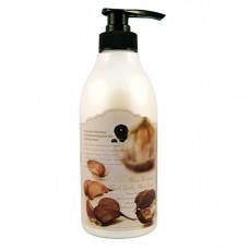 3W Clinic More moisture black garlic hair pack, 500мл Маска для волос черный чеснок