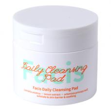 Facis Daily cleansing pad, 70шт Салфетки подушечки пропитанные косметическим тоником
