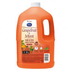Mukunghwa ,3л Жидкость для мытья посуды с ароматом грейпфрута и душистых трав,