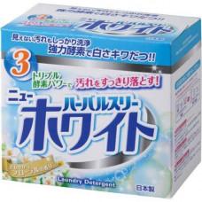 Mitsuei Herbal three, 850г Порошок с дезодорирующими компонентами, отбеливателем и ферментами