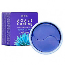 Petitfee Agave cooling hydrogel eye mask, 60шт Патчи гидрогелевые с экстрактом агавы